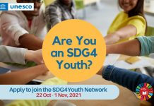 Apply to Join the UNESCO SDG4Youth Network 2021