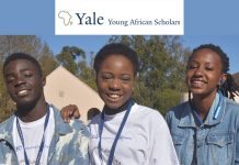 Apply for Yale Young African Scholars (YYAS) Program 2022