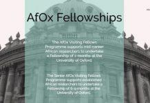 The AfOx Kennedy Trust Prize Studentship 2022/2023